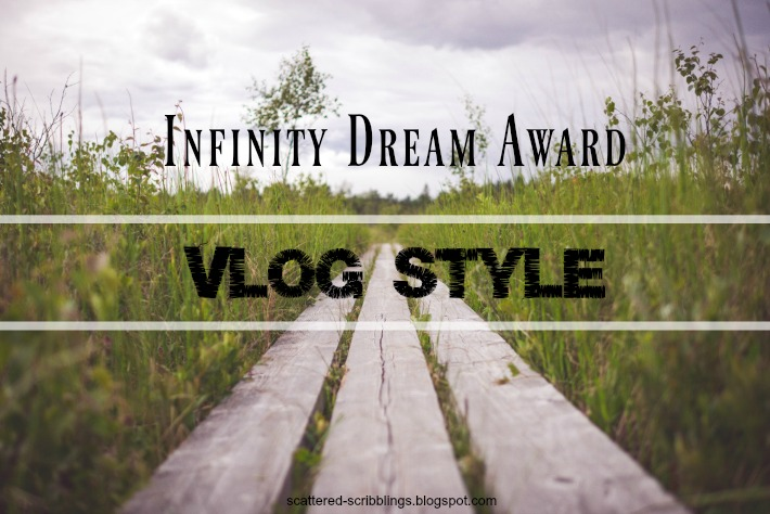 post header picture for the infinity dream award vlog