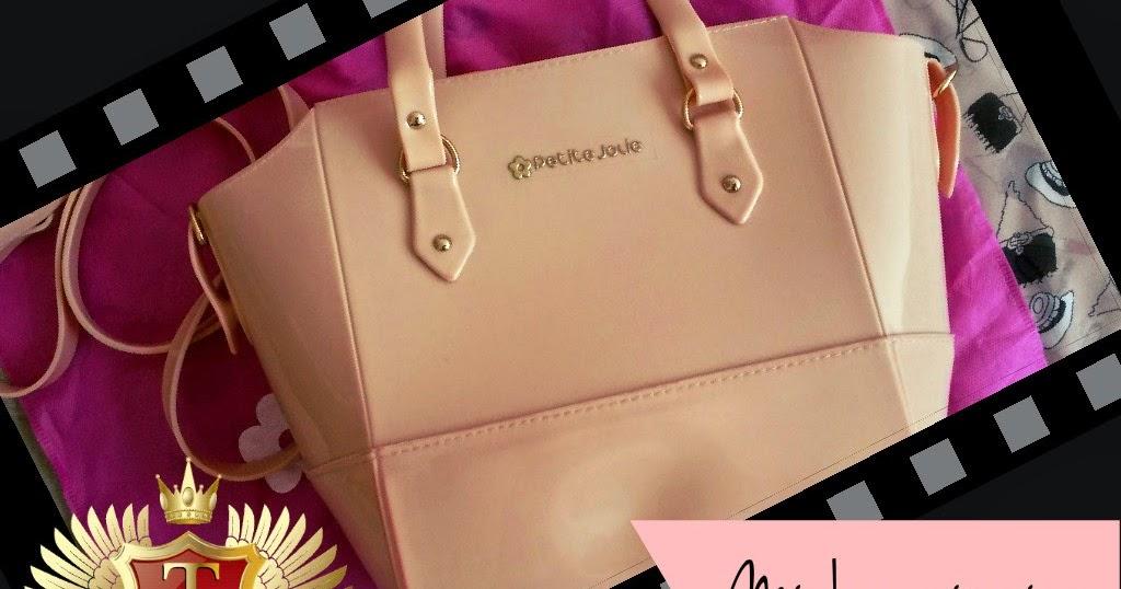 06bd4cfcf8 Minha primeira bolsa Petite Jolie  Mini Tote Bag Gelato de Papaya ...