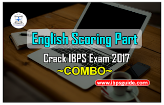 Crack IBPS Exam 2017 - English Scoring Part (Day-1 to Day-19)