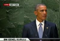 24 Eylül 2014 BM Kurulu Barack Obama Konuşması
