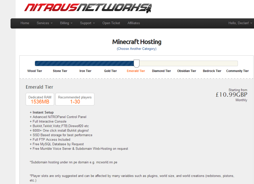 Server Hosting Review Nitrous Networks: Nitrous Networks