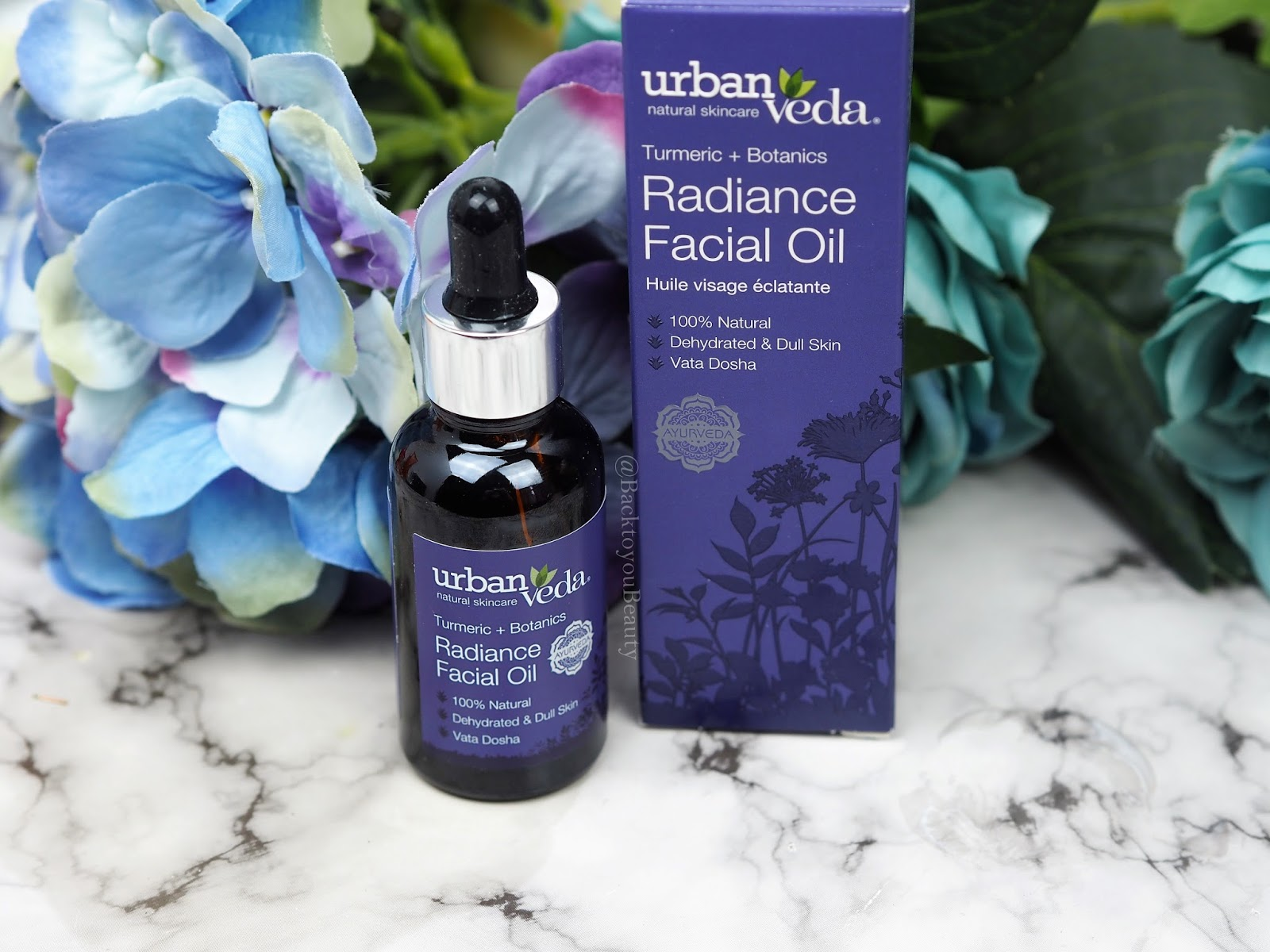 Urban Veda Tumeric + Botanics Radiance Facial Oil 30ml
