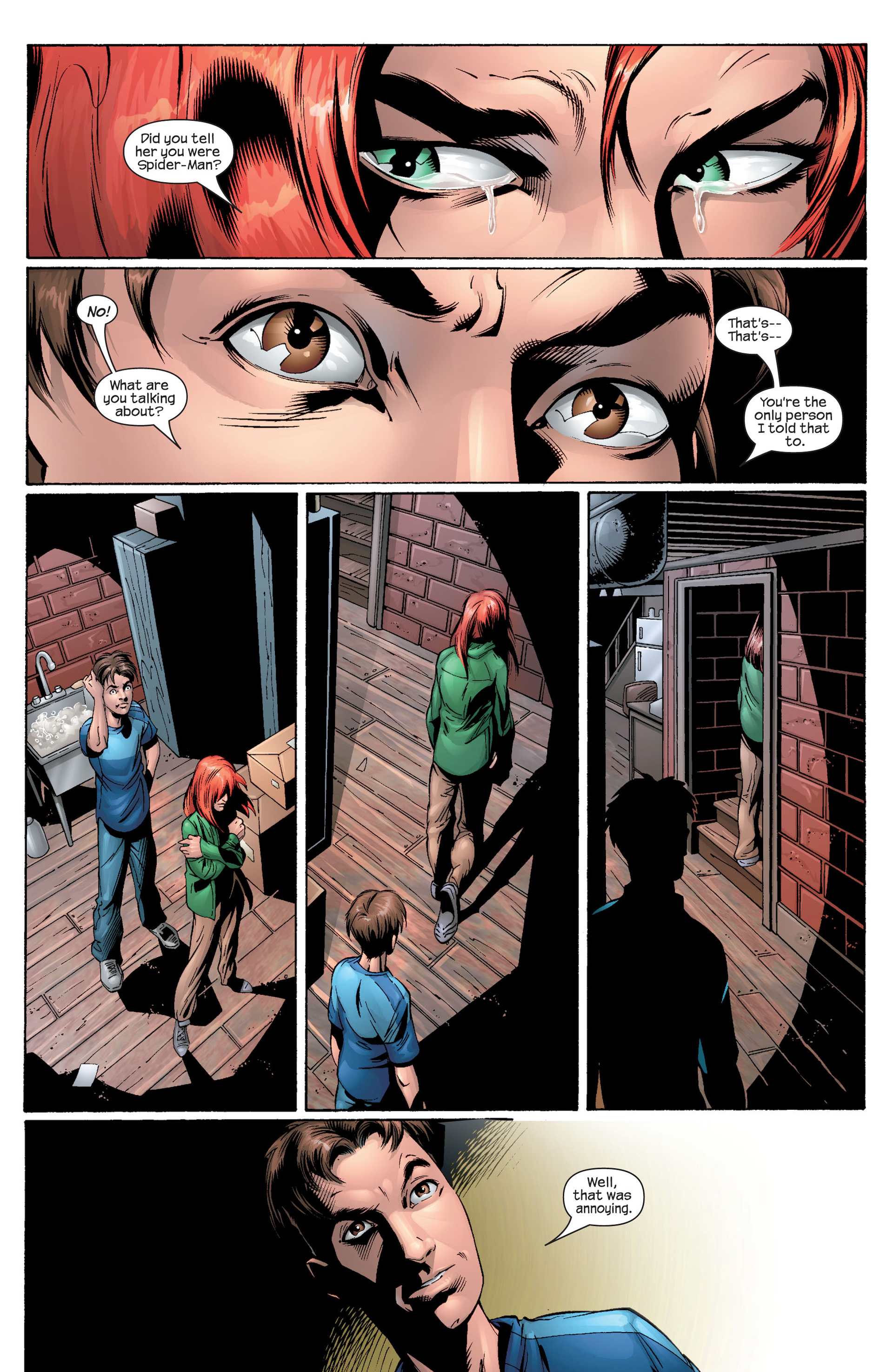 Read online Ultimate Spider-Man (2000) comic -  Issue #29 - 19