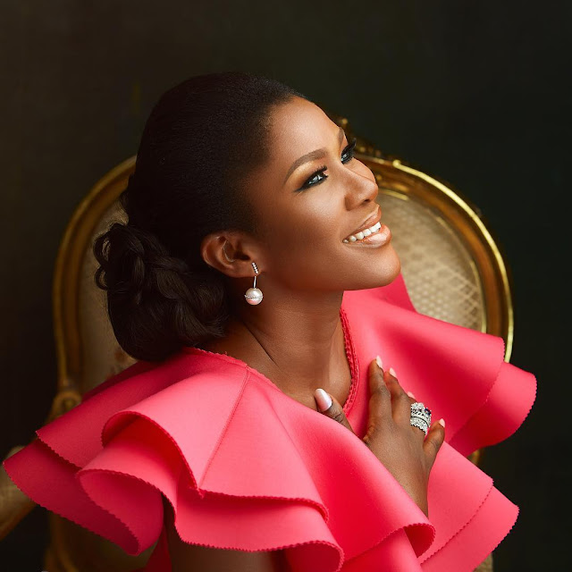 Stephanie Linus' Pink Outfit For #MBGN2017