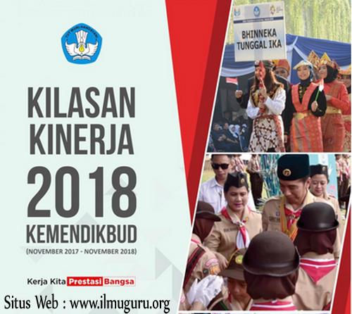Download Lengkap Buku Kilasan Kinerja Kementerian Pendidikan dan Kebudayaan  Download Buku Kilasan Kinerja Kemendikbud Tahun 2018