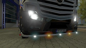New lights addons for Mercedes MP4