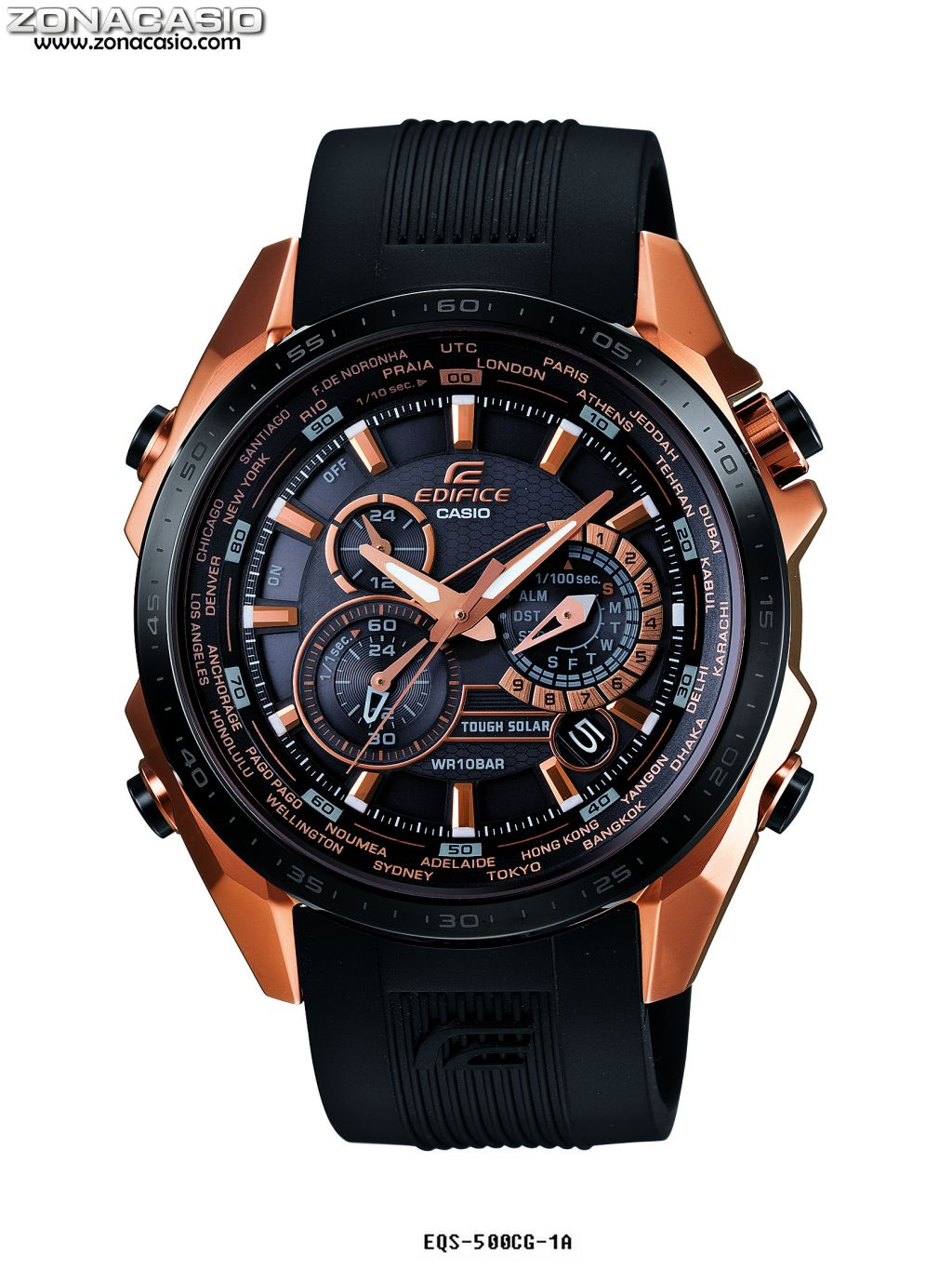 This is a photo of Slobbery Casio Edifice Gold Label Efx 510p