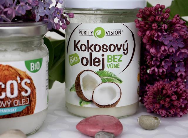 jedenie kokosového oleja