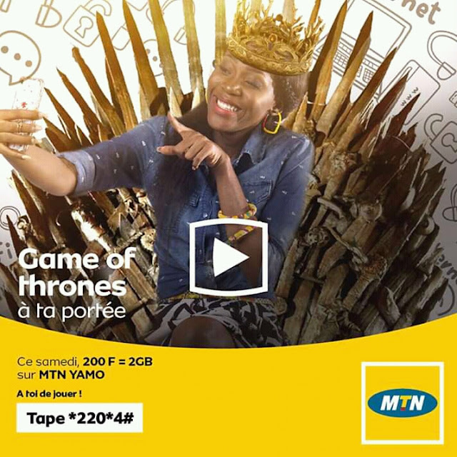 MTN Yamo: Grab your 2GB 4G Internet bundle for only 200Frs and enjoy other advantages