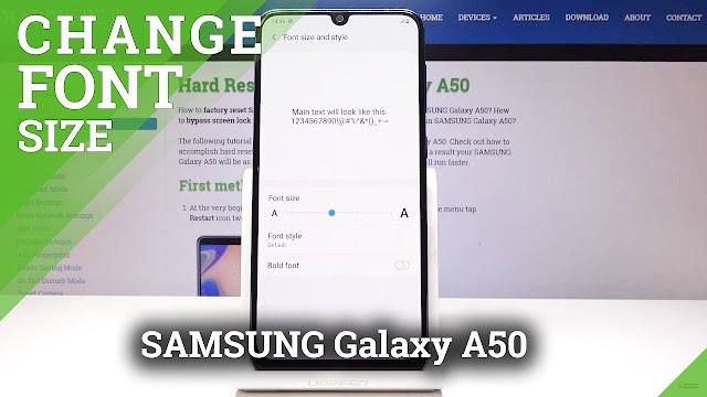 Cara menambah dan install font ttf di hp android, semua hp samsung tanpa root dan gratis. Samsung Galaxy S10, S9, S8, Note 8, Note 9, S7, devices for OneUI based on Android 9 Pie