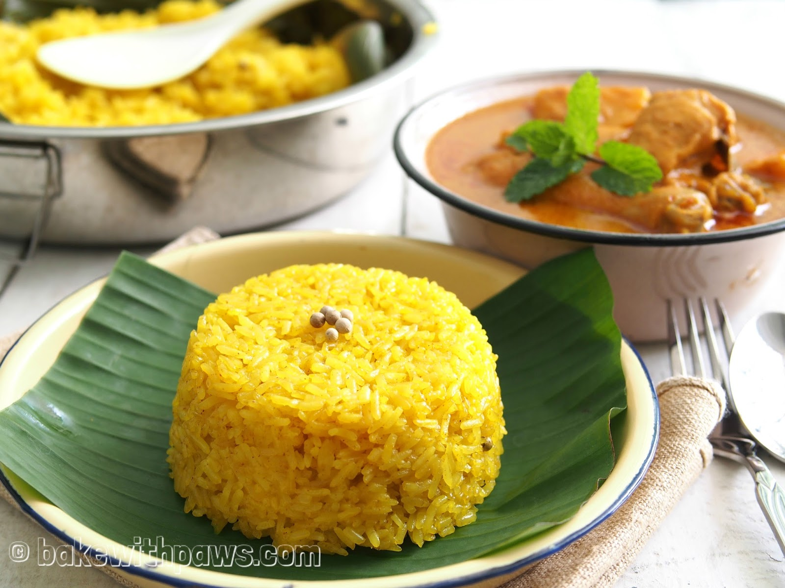 how to cook turmeric rice