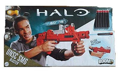 TOYS : JUGUETES - BOOMco : Halo UNSC SMG Blaster - Pistola Producto Oficial | Mattel DKN85 | A partir de 8 años Comprar en Amazon España & buy Amazon USA