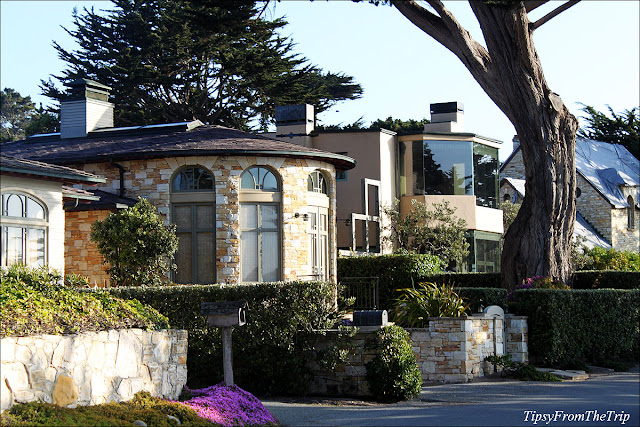 Seaside homes, Carmel, California.