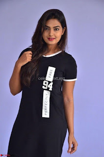 Actress Neha Deshpandey in Black Short Dress ~  Exclusive 010.jpg