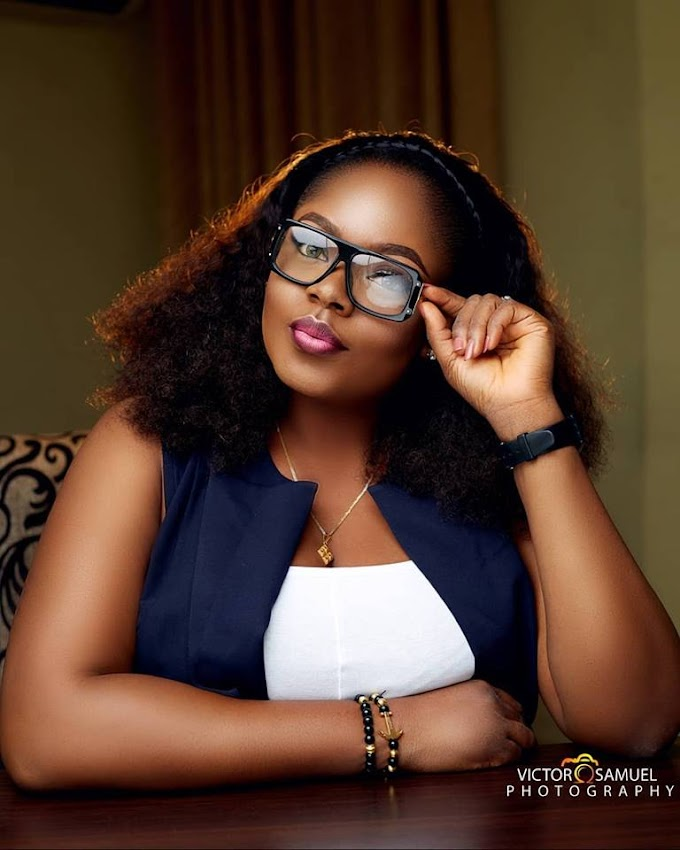 Wish this diamond happy birthday Uche Onwuka Popularly Known as Do me pretty