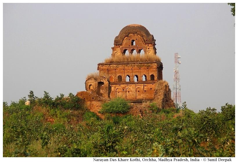 Narayan Das Khare ki kothi, Orchha, Madhya Pradesh, India - Images by Sunil Deepak