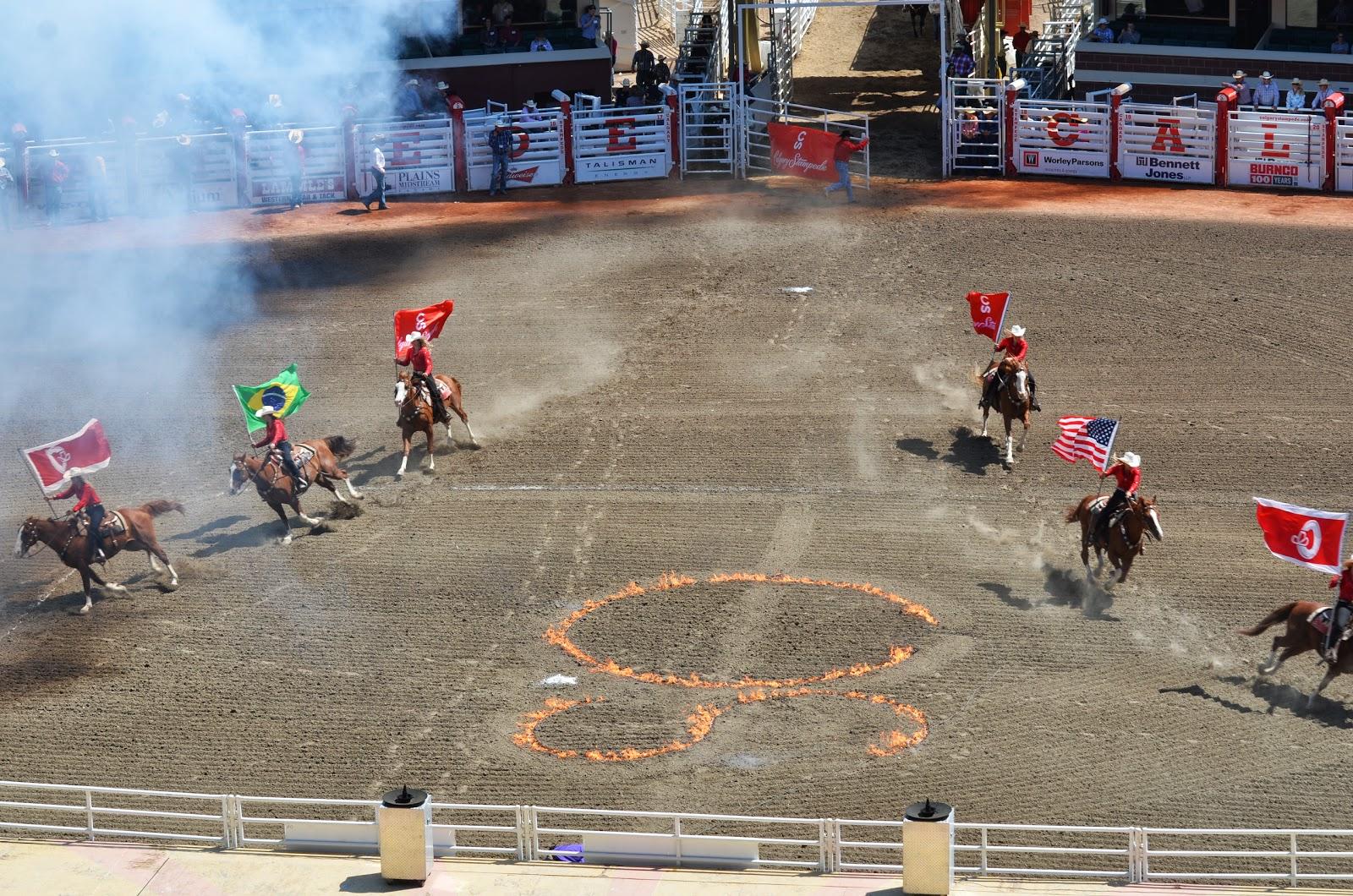 Rving Beach Bums Calgary Stampede Rodeo