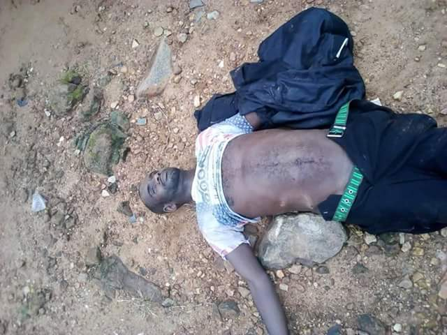 Notorious armed robber, policeman die in shootout in Nassarawa (photos)