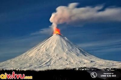 Núi lửa mang vẻ đẹp trời phú, đáng tự hào.