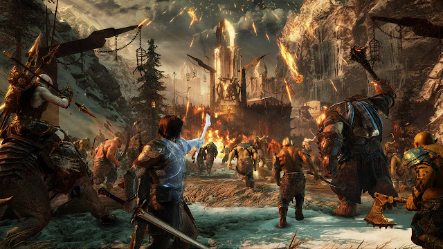 Middle Earth Shadow of War HD Wallpapers Free Download