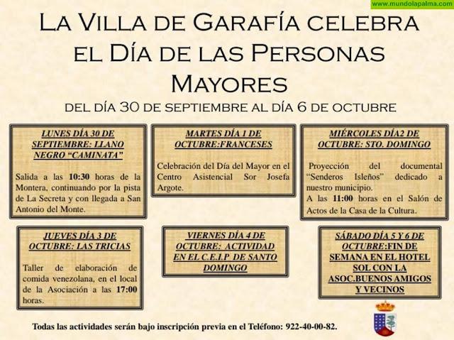 'El Día de las Personas Mayores' 2019 en Garafía