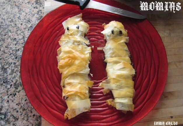 Momias saladas para Halloween