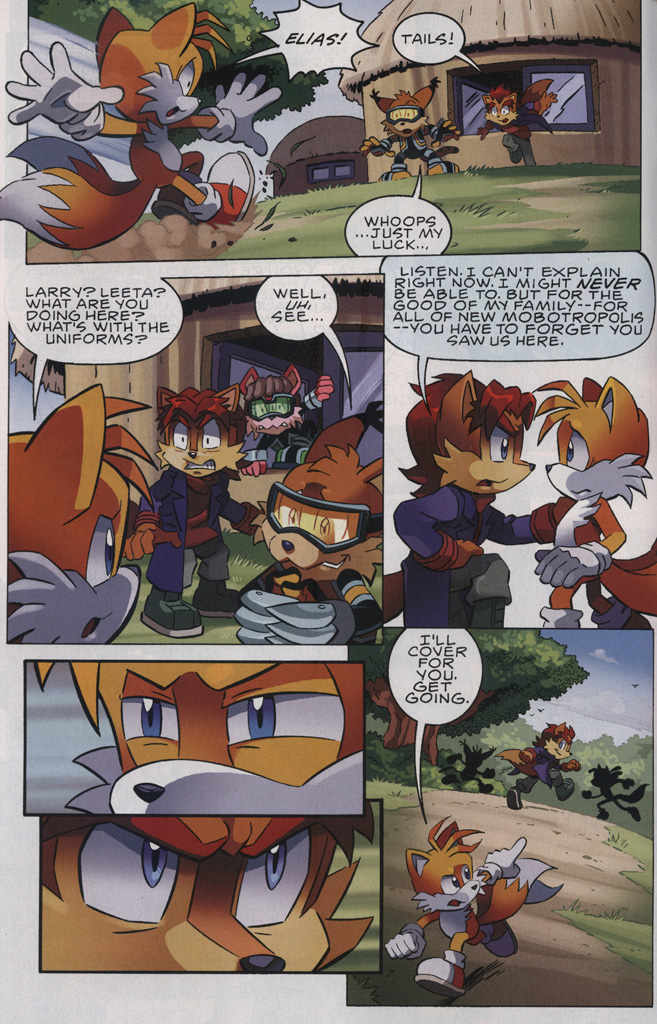 Read online Sonic The Hedgehog comic -  Issue #239 - 12