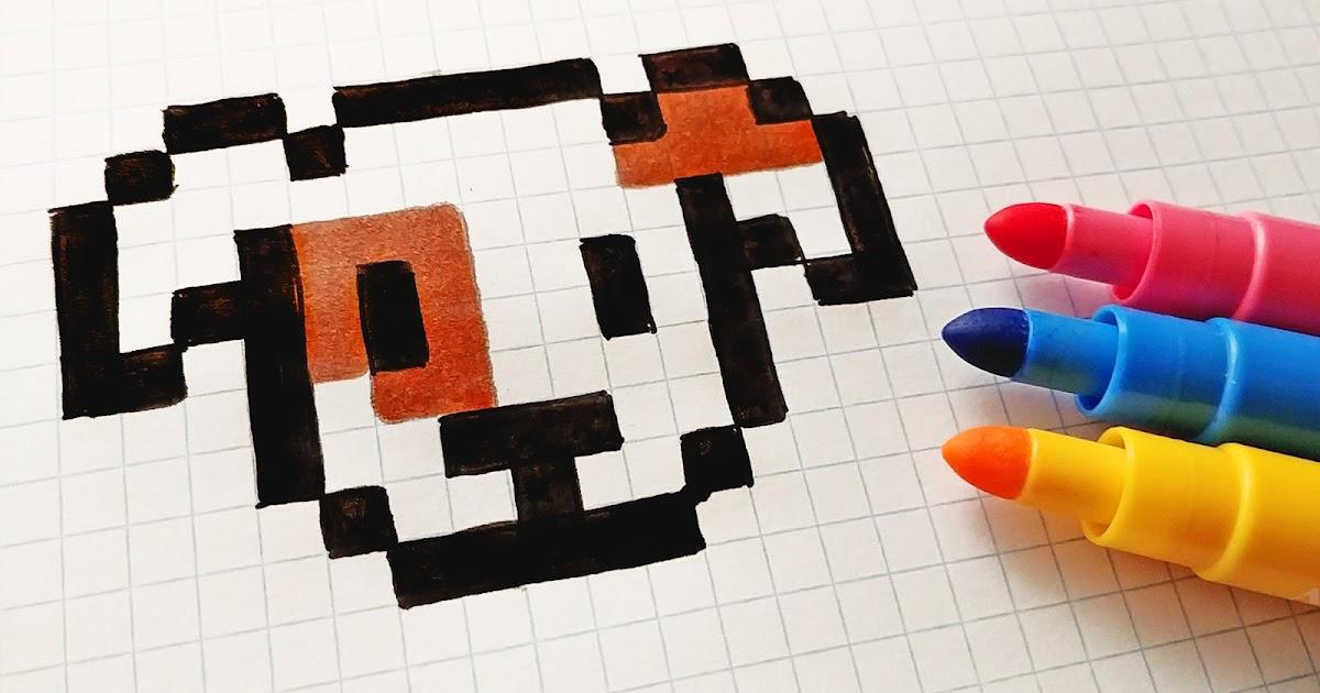 Art Dessin Pixel Art Kawaii Animaux