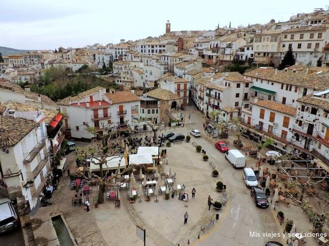Vistas desde la torre de la Plaza de Santa María, Cazorla, Jaén, Andalucía