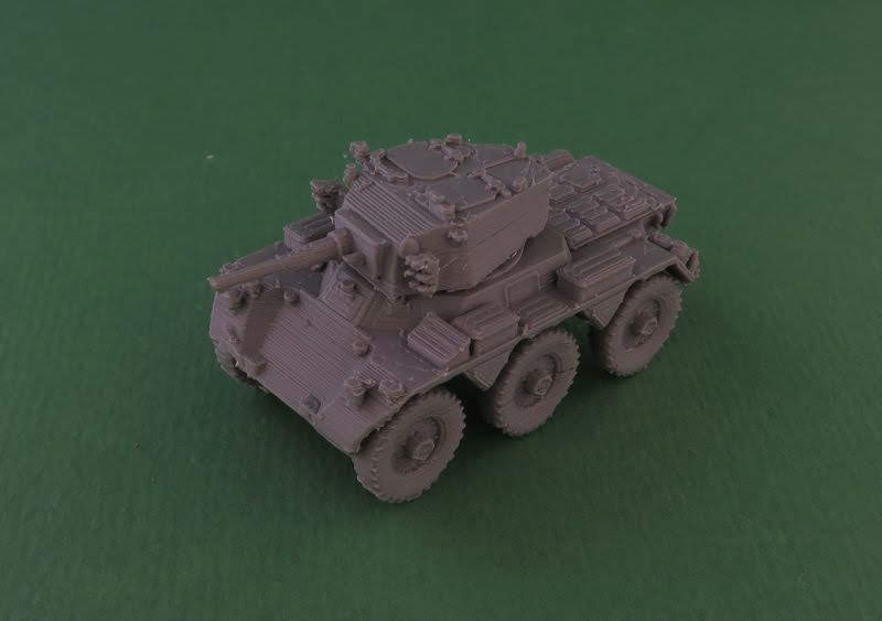 10mm Wargaming: 12mm FV601 Saladin Armoured Car from Butlers