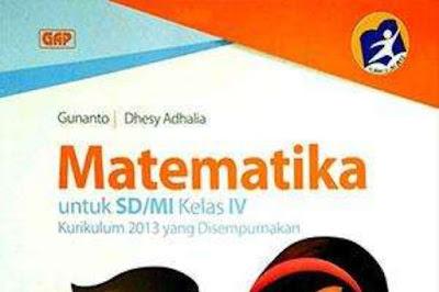 Buku Matematika Kelas 4 SD Kurikulum 2013