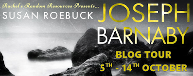 Joseph Barnaby by Susan Roebuck book blog tour banner