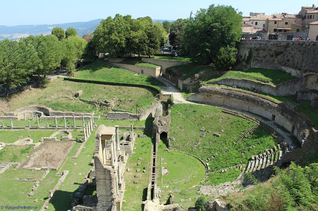 Volterra, Toscana medieval, Itàlia, arqueologia, etruscs