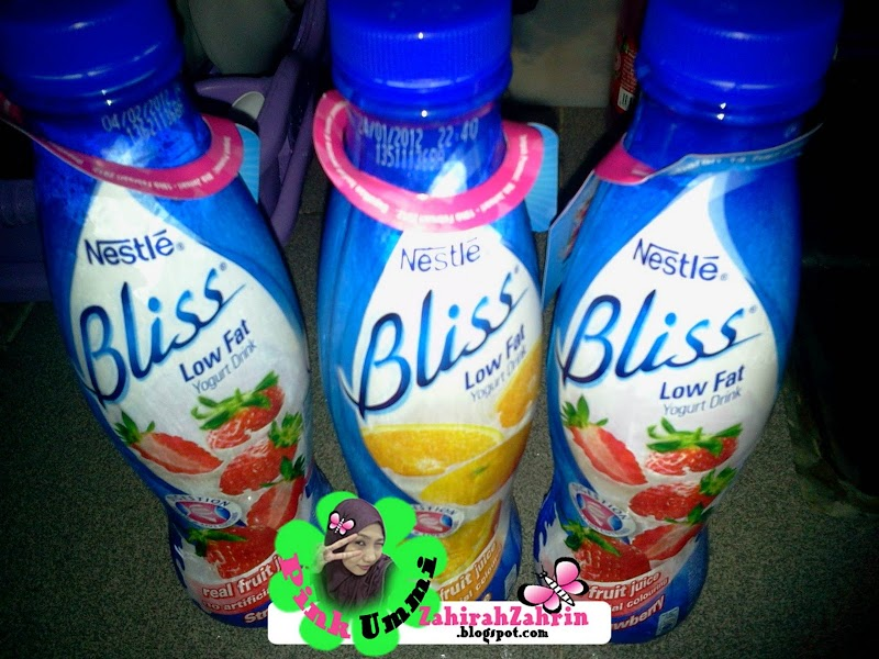 Tetap setia dengan Nestle Bliss Low Fat Yogurt Drink