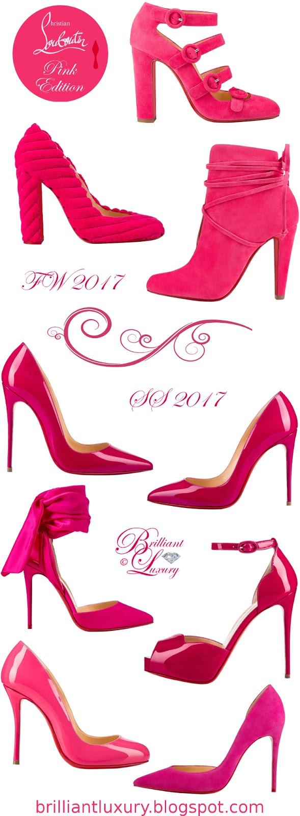 Brilliant Luxury ♦ Christian Louboutin Pink Edition