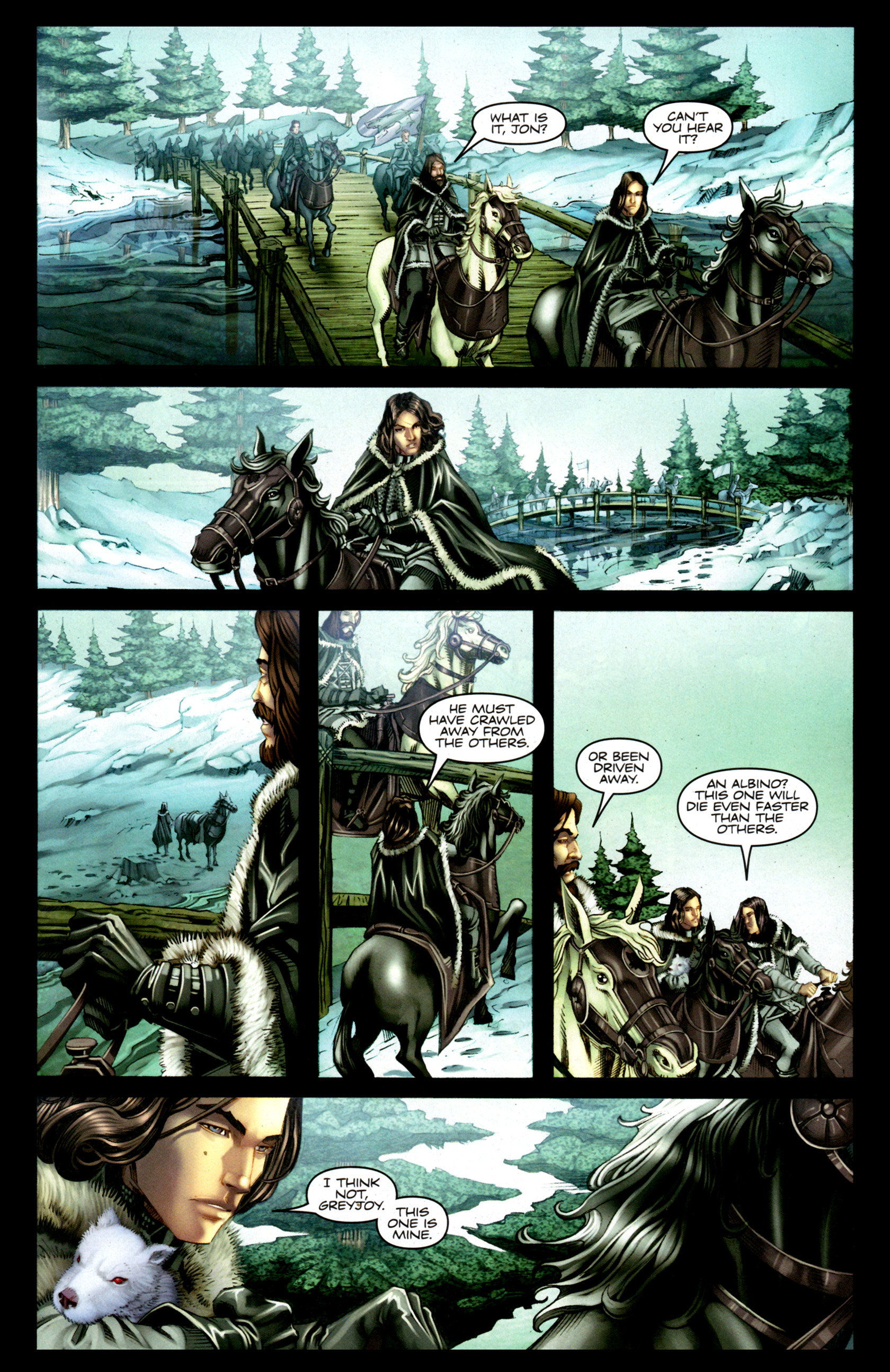 Read online A Game Of Thrones comic -  Issue #1 - 18