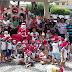 Uma sessão de fotos com crianças das creches municipais acompanhados da primeira-dama Lea Toscano marcou a abertura da casa do papai noel na praça  João Pessoa