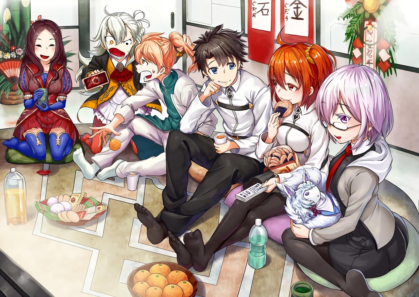 Fate AowVN%2B%252859%2529 - [ Hình Nền ] Anime Fate/GrandOrder tuyệt đẹp Full HD | Wallpaper