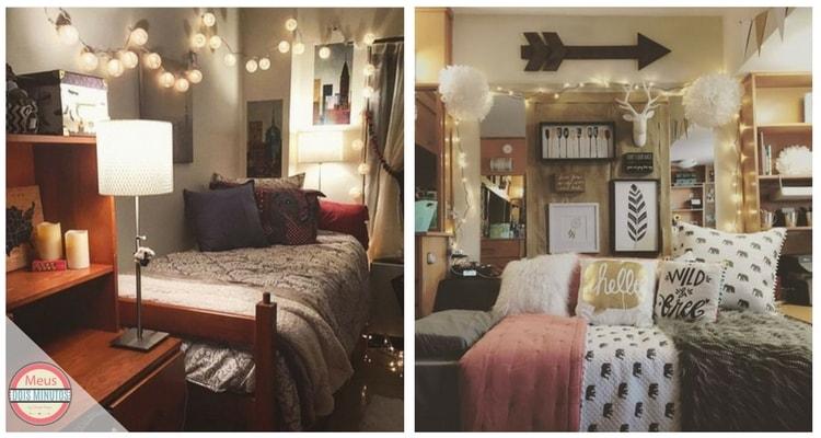 decorar quarto luzes