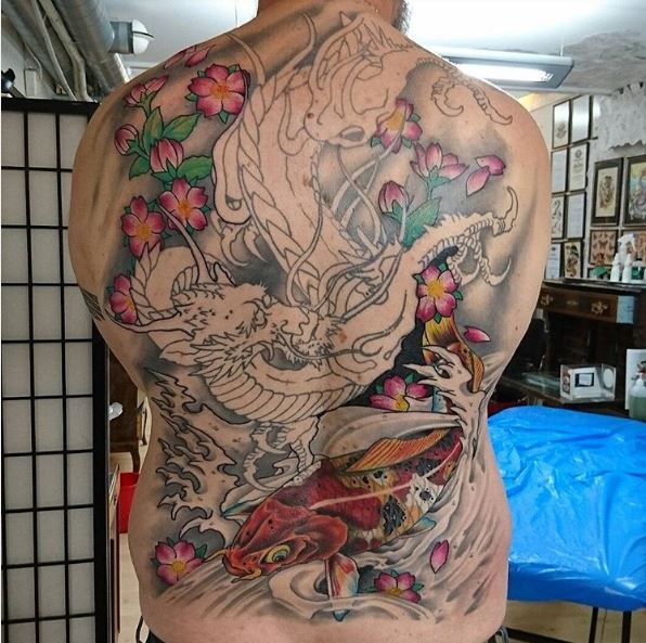 50 best full back tattoos designs and ideas 2018 tattoosboygirl. Black Bedroom Furniture Sets. Home Design Ideas