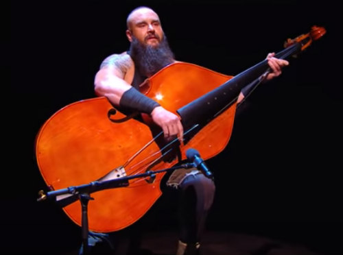 Braun Strowman On The Bass