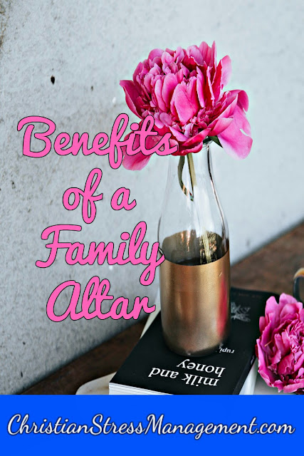 Benefits of having a family altar in your home