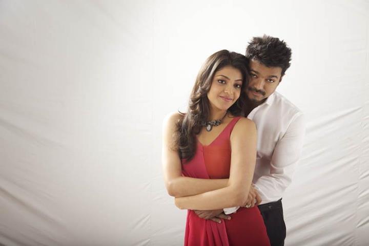 Vijay Kajal Agarwal stills in Thuppakki tamil movie ...