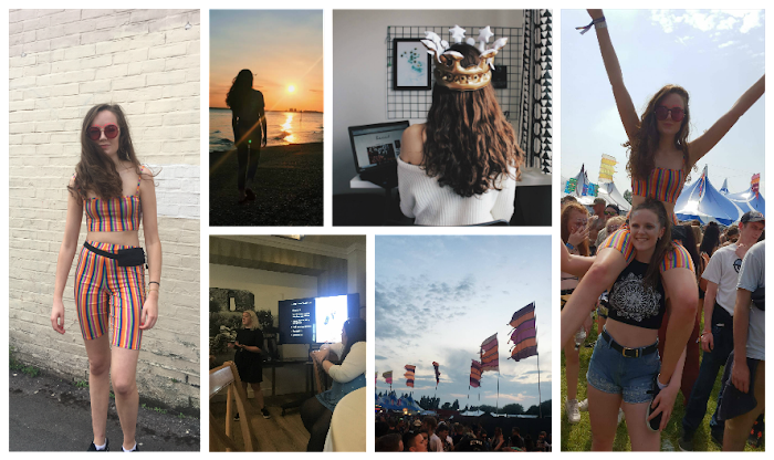A lifestyle roundup of my week at university featuring all I've bought, watched, eaten, seen and been up to. Featuring mutiny music festival, a blogger event with Kaye Ford and a walk as the sun set