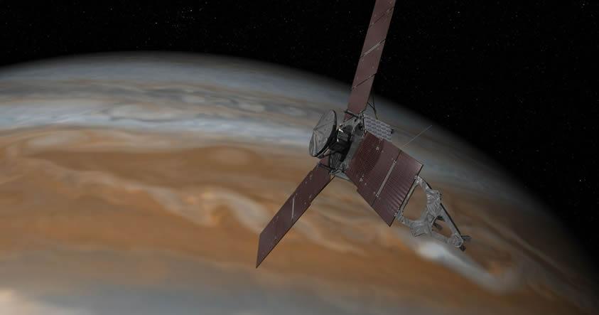 NASA publica 1.300 imágenes de Júpiter «sin editar»