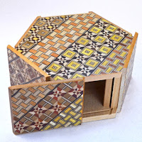Hexagon Puzzle Box from Dogwood Hill Gifts