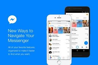 Facebook Messenger in new look