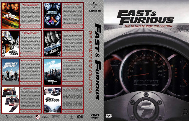 Fast & Furious The Ultimate Ride Collection DVD Cover