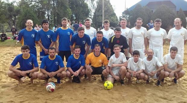 Futebol suíço no São Cristóvão em Três Barras