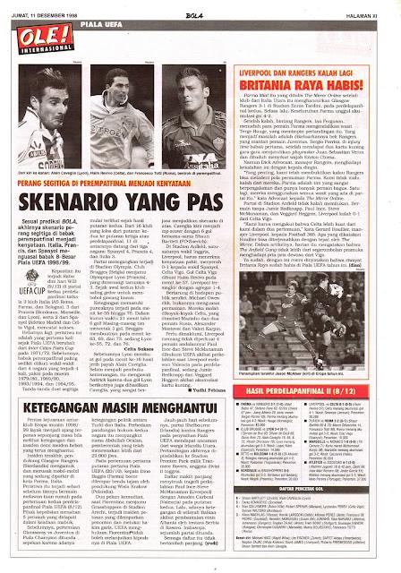 PERANG SEGITIGA DI PEREMPATFINAL PIALA UEFA 1998